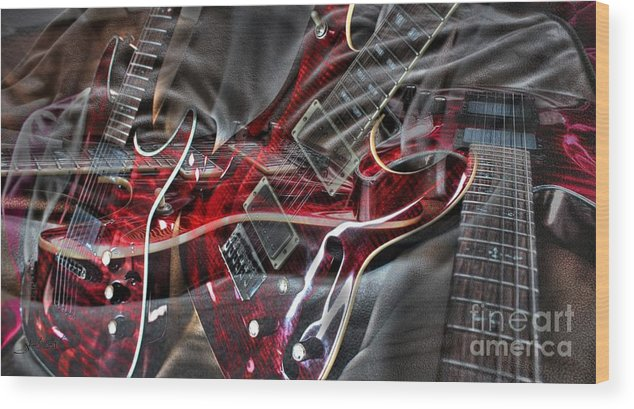 Acoustic Wood Print featuring the photograph Awsome Pairing By Steven Langston by Steven Lebron Langston