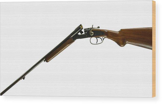 Open  410 Shotgun Wood Print