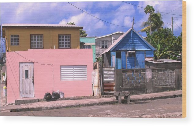 Basseterre Wood Print featuring the photograph Far From Dull by Ian MacDonald