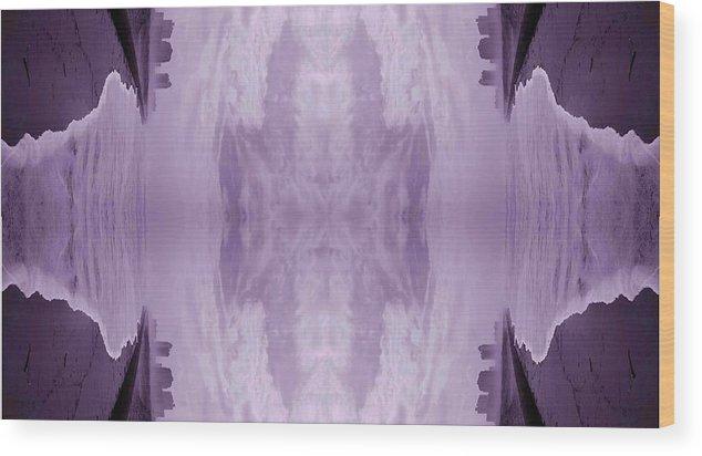 Wood Print featuring the digital art Patch 842 by Scott S Baker