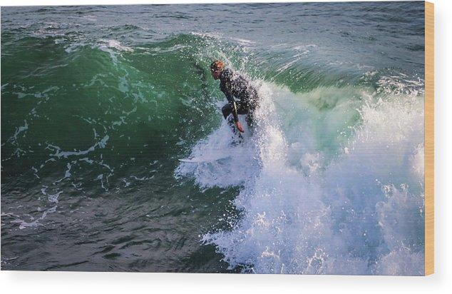 Wood Print featuring the photograph Wrapped In Santa Cruz, Ca by Janine Moore
