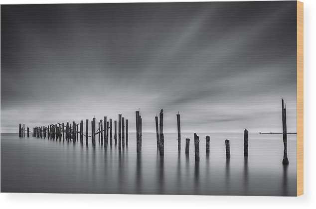 New York Wood Print featuring the photograph Dreams Of Desolation by Mihai Andritoiu