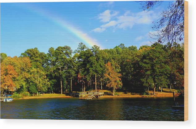 My Pot Of Gold Wood Print featuring the photograph My Pot Of Gold by Lisa Wooten