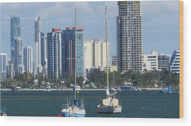Queensland Wood Print featuring the photograph Queensland Australia by Joyce Woodhouse