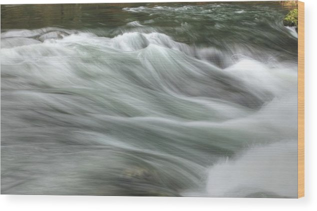 Sam Amato Wood Print featuring the photograph Whisping Water by Sam Amato