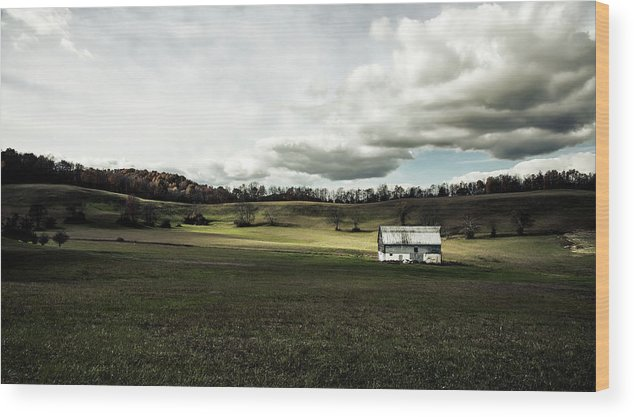 Upshur County Wood Print featuring the photograph Heaven - West Virginia by Mountain Dreams