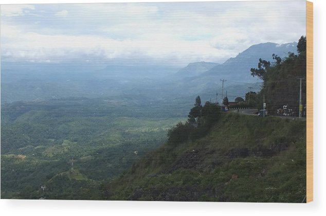 Nature Wood Print featuring the photograph Lookouts by Mohan