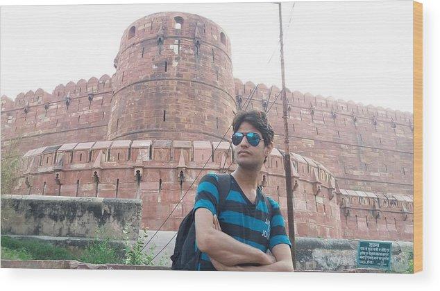 Harpal Singh Jadon Wood Print featuring the photograph Harpal Singh Jadon by Harpal Singh Jadon Jadon
