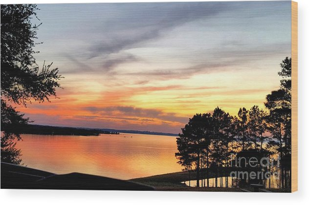 Creator Wood Print featuring the photograph God's Handiwork by Kathy White