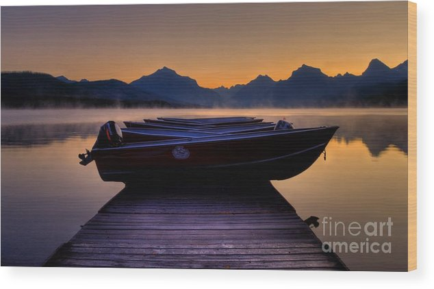 Rocky Mountains Wood Print featuring the photograph Rocky Mountain Magic - Seveneleven by James Anderson