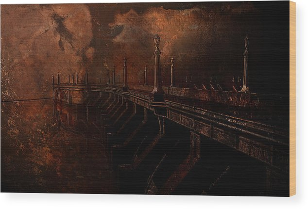 Fire Wood Print featuring the photograph Fire At Diablo by Jeff Burgess