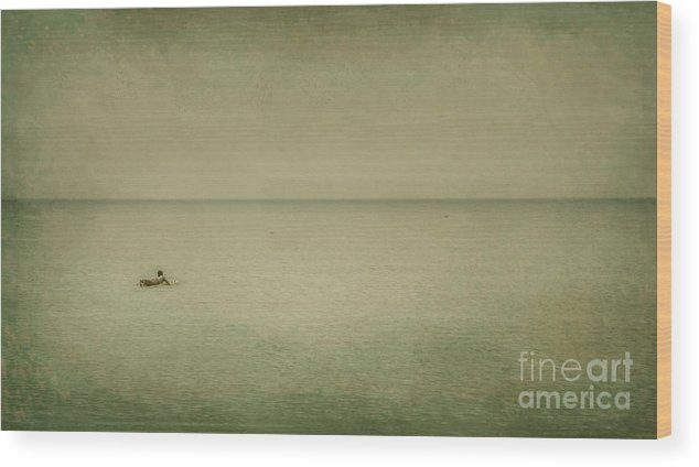 Sea Wood Print featuring the photograph The Recesses Of The Deep by Dana DiPasquale