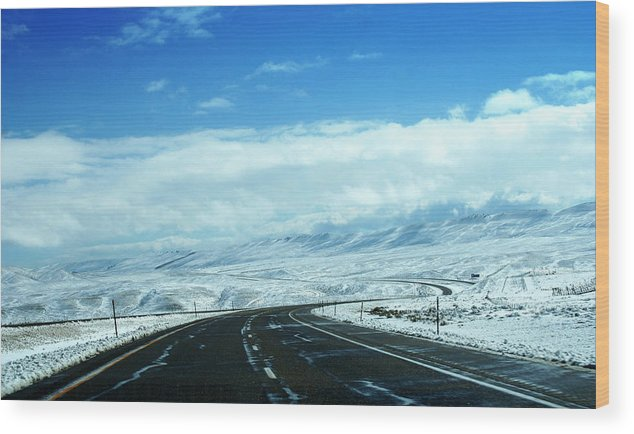 Whyoming Wood Print featuring the photograph Wyoming In September by Magda Levin-Gutierrez