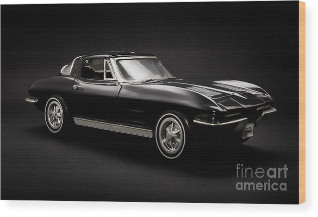 Car Wood Print featuring the photograph Stingray Style by Jorgo Photography - Wall Art Gallery