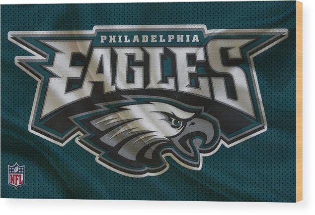 Eagles Wood Print featuring the photograph Philadelphia Eagles by Joe Hamilton