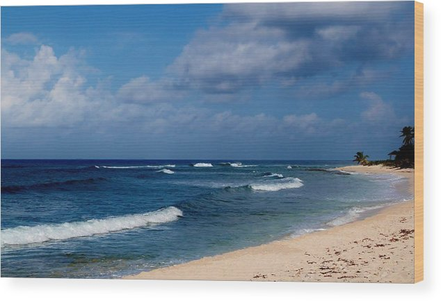 Color Wood Print featuring the photograph Curvature by Amar Sheow