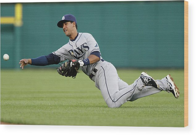 American League Baseball Wood Print featuring the photograph Alex Avila by Duane Burleson