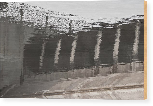 Wood Print featuring the photograph Hydro Dam Number One by Michael Rutland