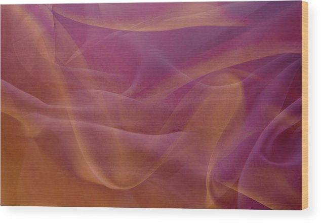 Shadow Wood Print featuring the photograph Gold And Lavendar Flowing Light by Jcarroll-images
