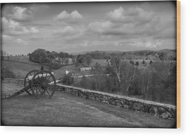 Antietam Wood Print featuring the photograph 101514-218 by Mike Davis
