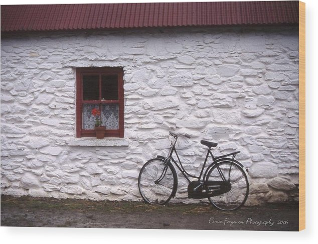 Landscape - Travel Wood Print featuring the photograph Kilarney Ireland by Ernie Ferguson