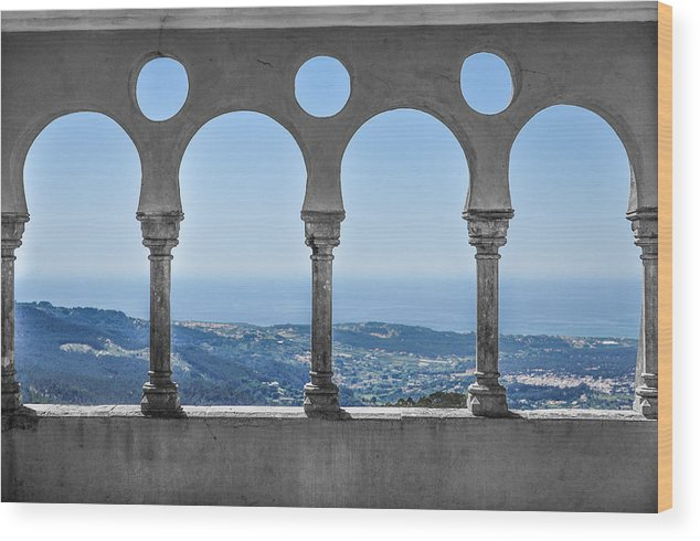 Portugal Wood Print featuring the photograph Picture On The Wall by Fabio Gibelli Photography