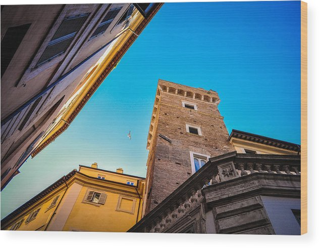 Italy Wood Print featuring the photograph Secrets Of Italy by Fabio Gibelli Photography