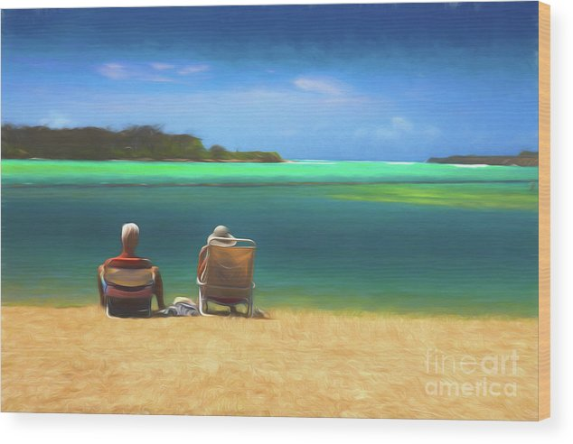 Beach Wood Print featuring the photograph An Afternoon Out by Sheila Smart Fine Art Photography