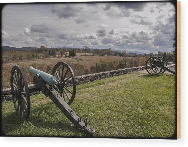 Antietam Wood Print featuring the photograph 101514-215 by Mike Davis