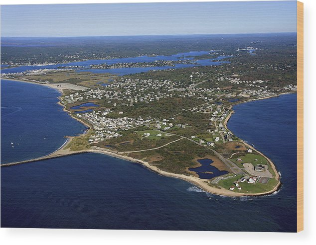 America Wood Print featuring the photograph Point Judith, Rhode Island by Dave Cleaveland
