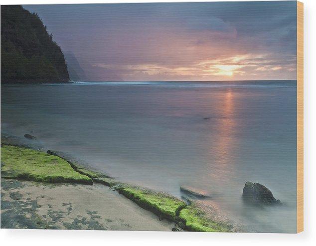 Horizontal Wood Print featuring the photograph Stillness by Jon Glaser