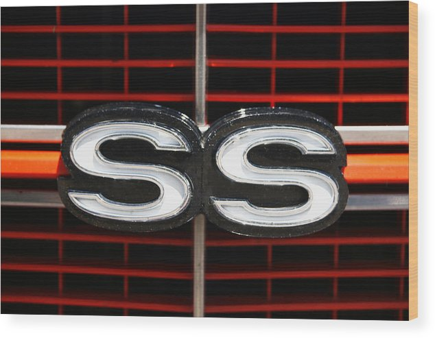 Super Sport Wood Print featuring the photograph Super Sport by Morris McClung