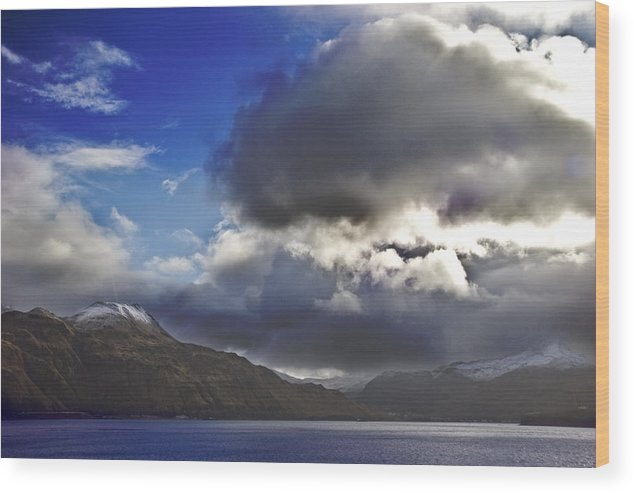 Landscape Wood Print featuring the photograph Dutch Harbor by Wes Shinn