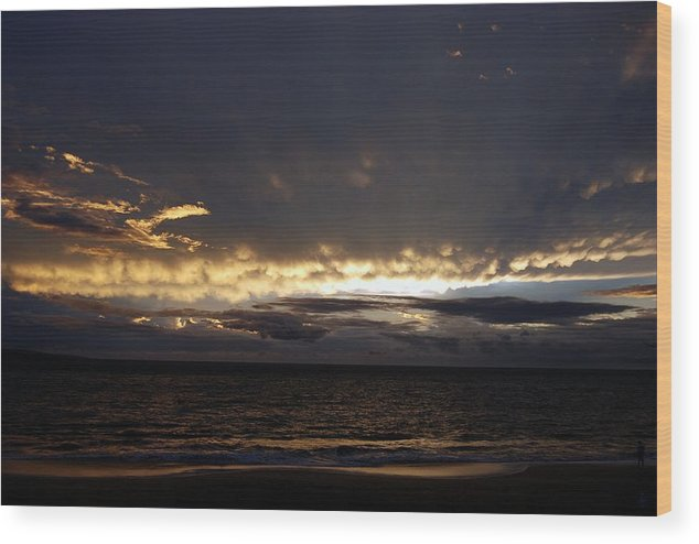 Wood Print featuring the photograph Gentle Whispers by JK Photography