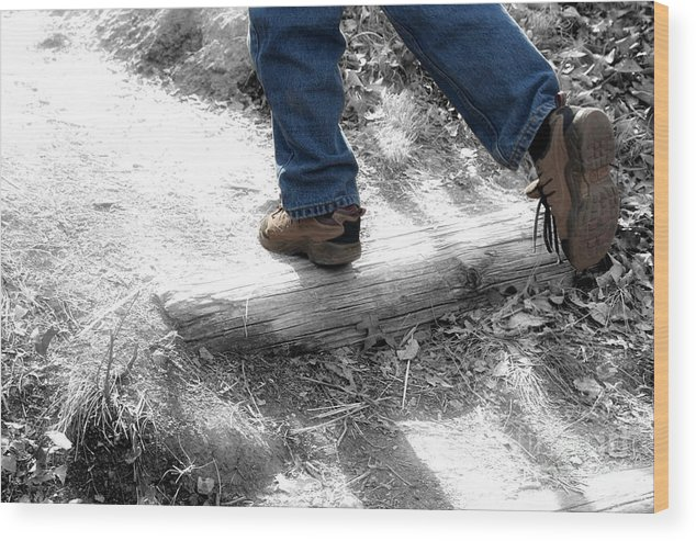 Run Wood Print featuring the photograph Run Away by Jeannie Burleson
