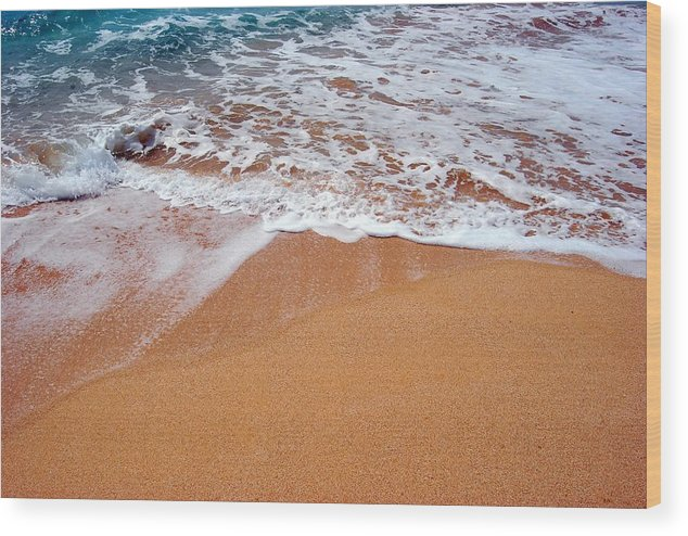 Wood Print featuring the photograph Soothing by JK Photography