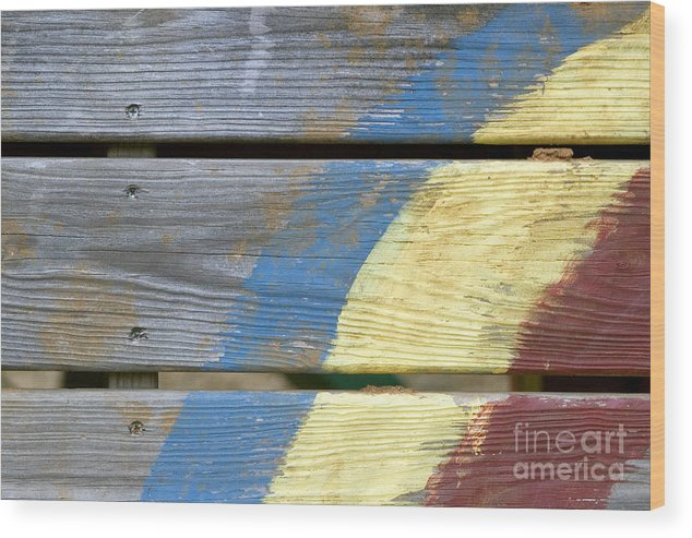 Weathered Wood Print featuring the photograph Weathered by Jeannie Burleson