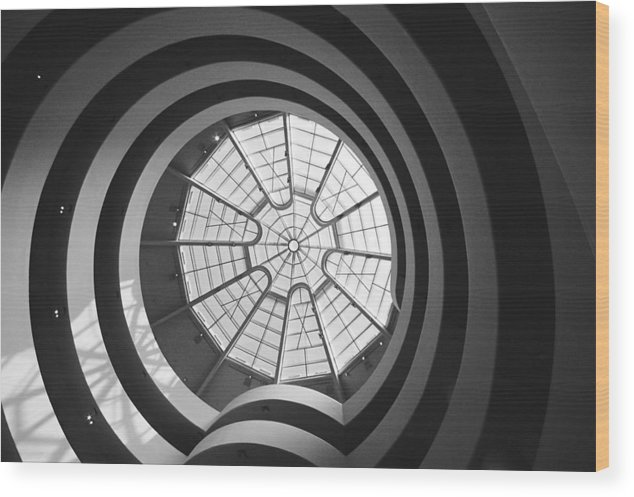 Spiral Wood Print featuring the photograph Spirals by Caroline Clark