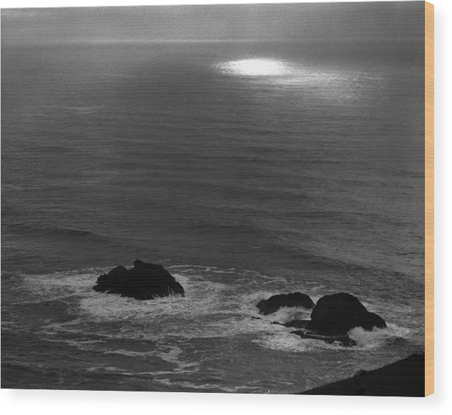 Nature Wood Print featuring the photograph Ocean Light by Benjamin Garvey