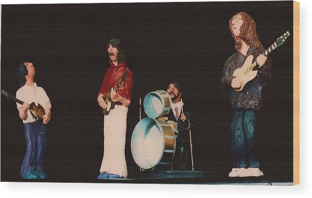 John Wood Print featuring the mixed media Beatles 69 by Richard Hubal