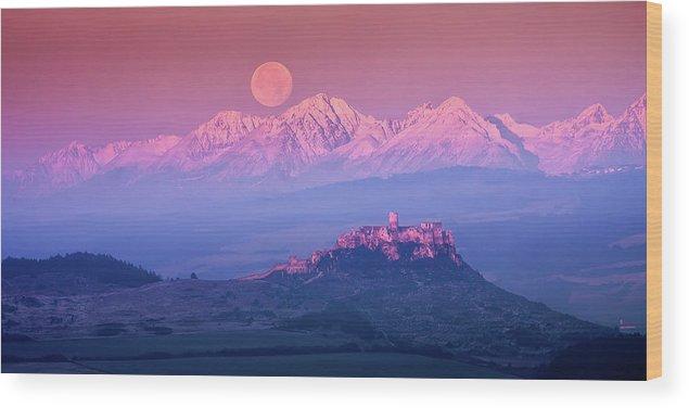 Slovakia Wood Print featuring the photograph Spia? Fairy Tale by Marian Kmet