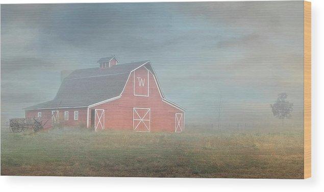 Barn Wood Print featuring the photograph Barn, Longmont, Colorado by Zayne Diamond Photographic
