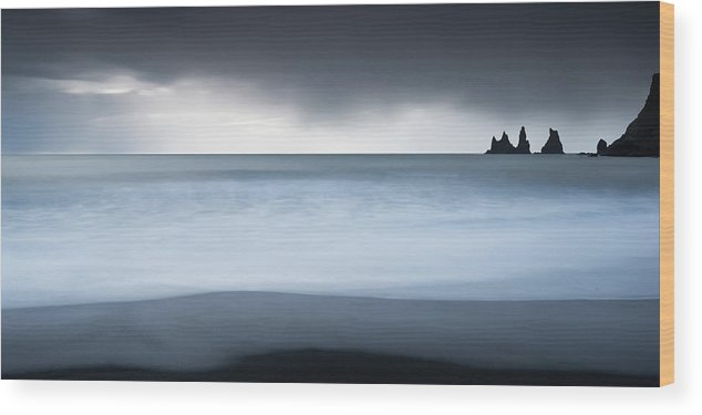 Scenics Wood Print featuring the photograph Iceland by Jeremy Walker