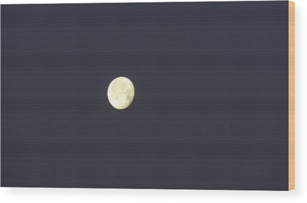 Full Moon Wood Print featuring the photograph Full Moon by Jessica Cruz