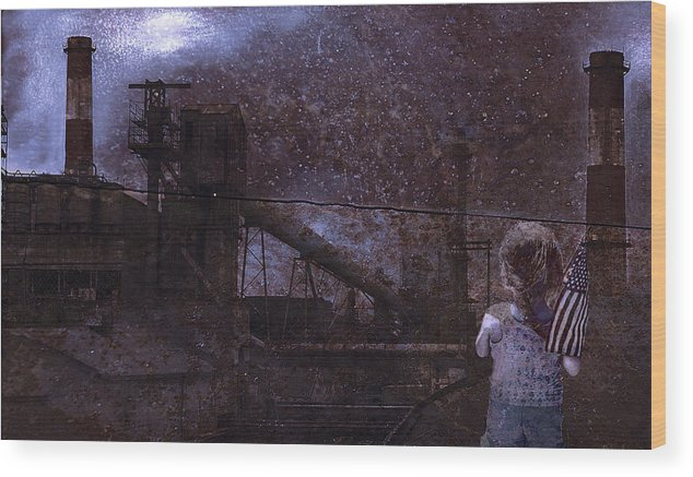 Urban Wood Print featuring the photograph Legacy for a child by Jeff Burgess