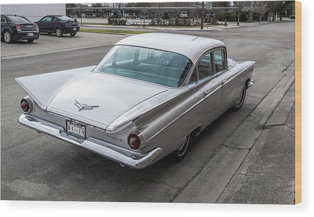 59 Buick Wood Print featuring the photograph 59 Buick by Peyton Vaughn