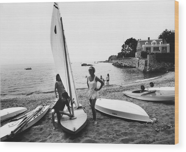 Child Wood Print featuring the photograph Sailboat by Slim Aarons