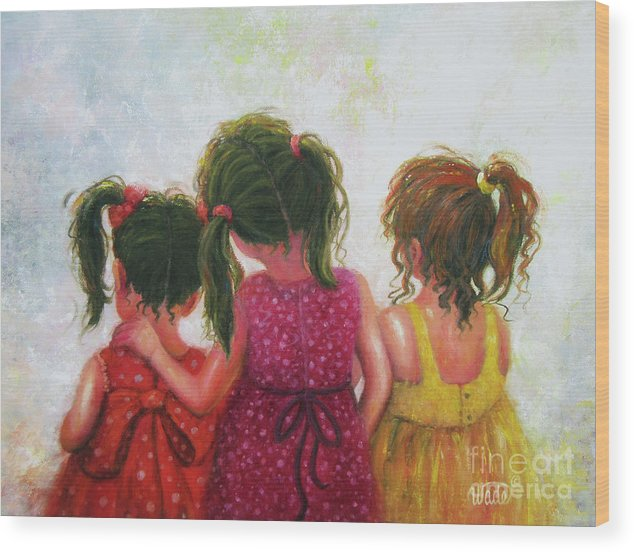 Three Little Sisters by Vickie Wade