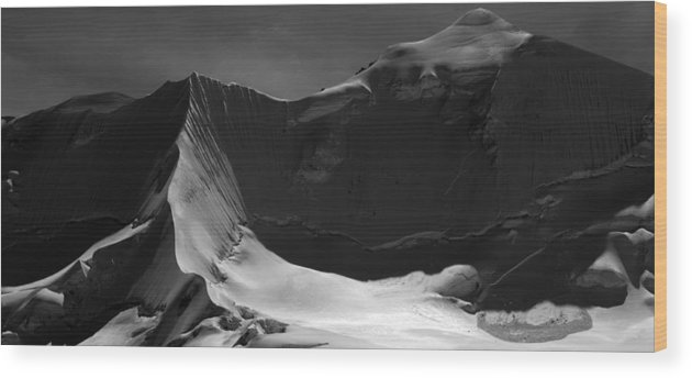 Illimani Wood Print featuring the photograph Illimani North Peak by Alasdair Turner
