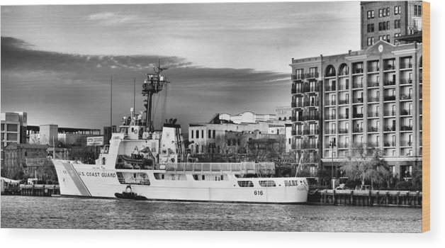 Uss Diligence Wood Print featuring the photograph The Diligence by JC Findley